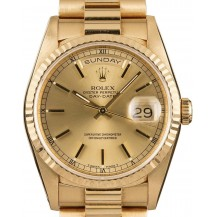 Rolex Day-Date Yellow Gold Ref. 18038