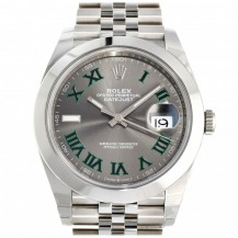Rolex Datejust 41 Wimbledon Dial Ref. 126300 FULL SET