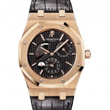 Audemars Piguet Royal Oak Dual Time Rose Gold Ref. 26120OR FULL SET